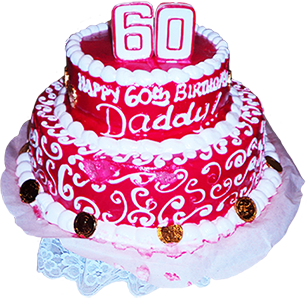 60 Year Birthday Cake For Dad