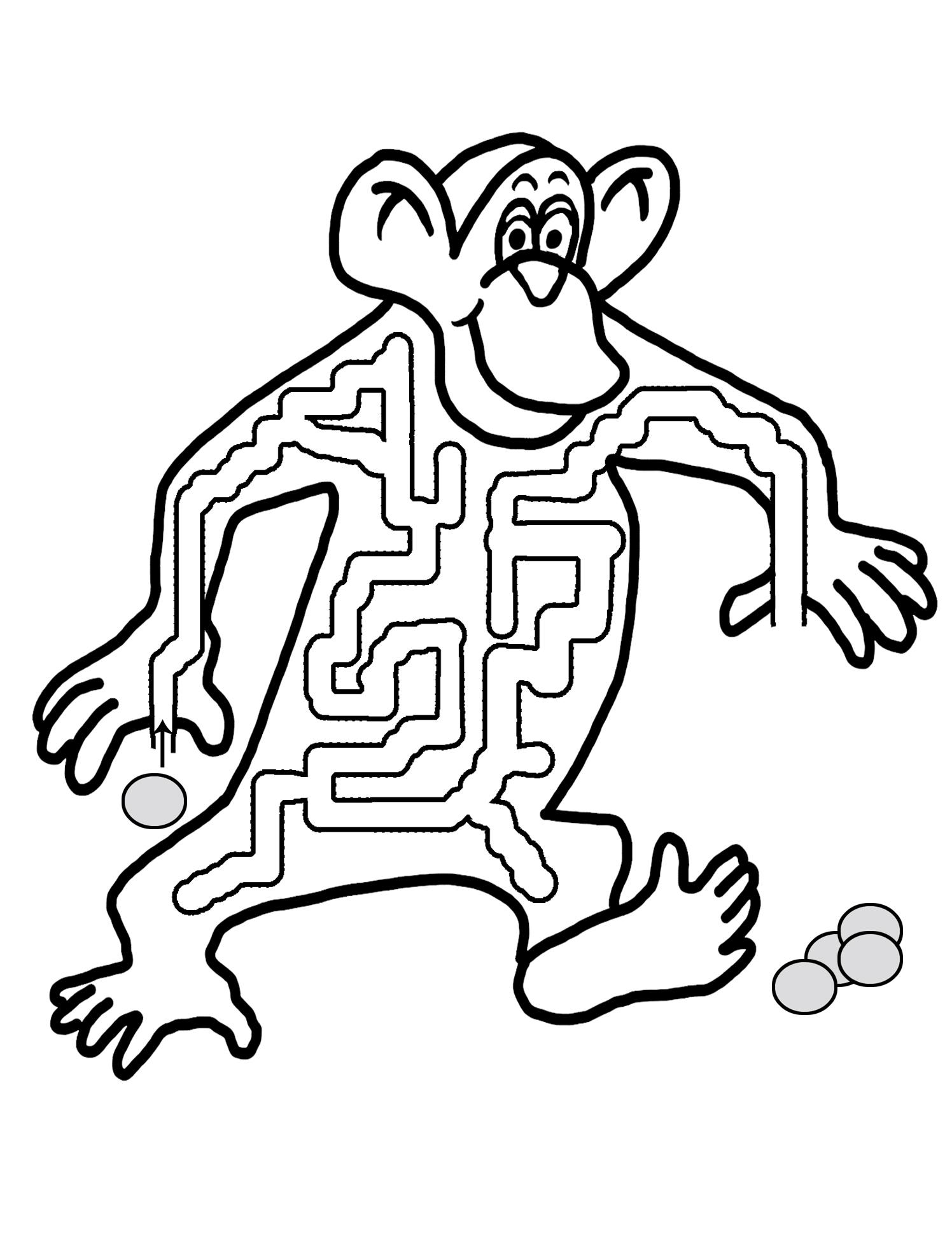 abe maze for kids