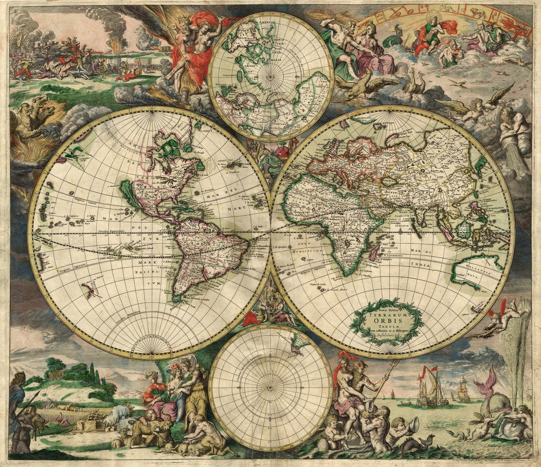ancient worldmap
