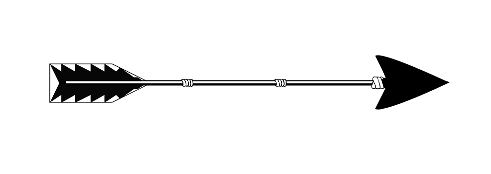 arrow png black tail