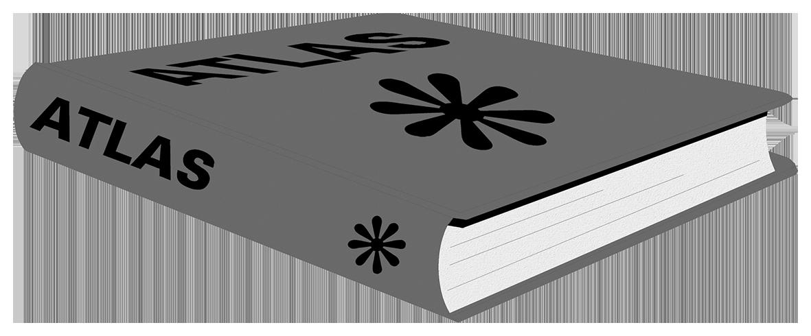 atlas clipart book transparent background
