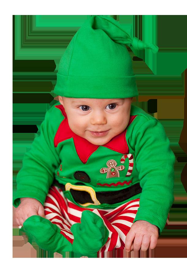 Baby elf clipart