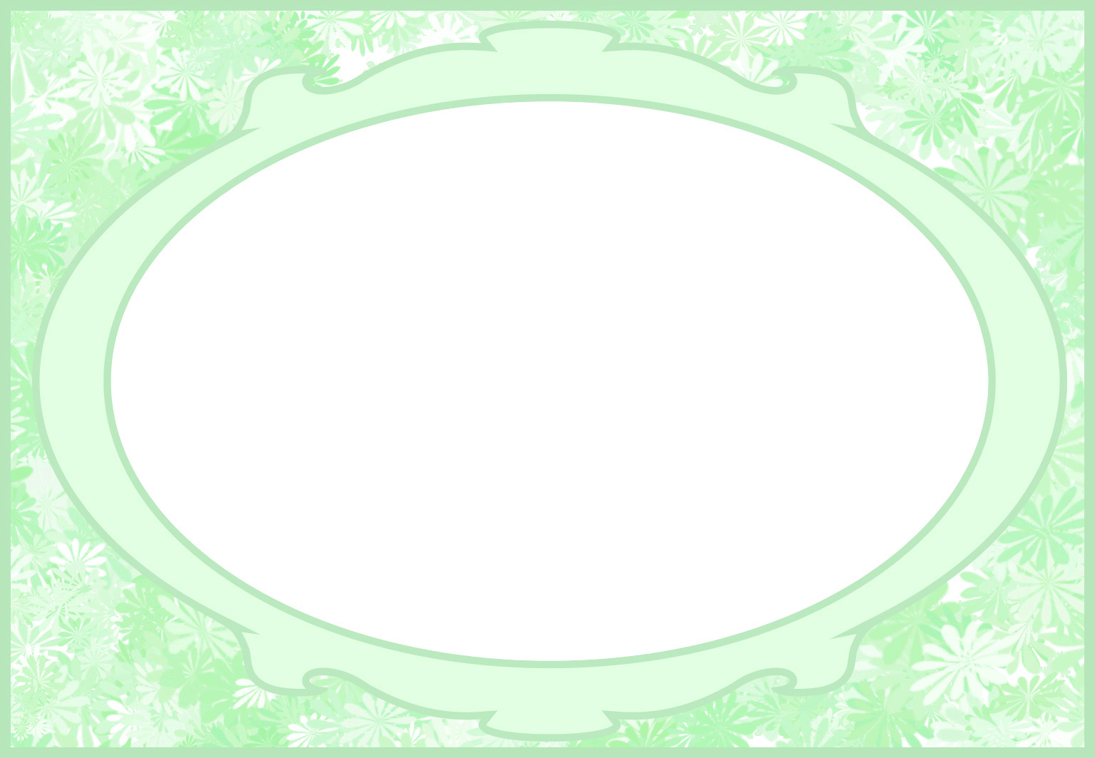 green baby card template