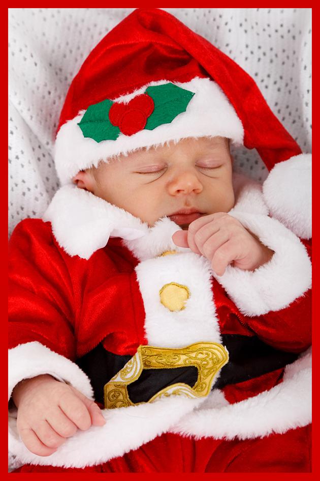 baby Santa clip art
