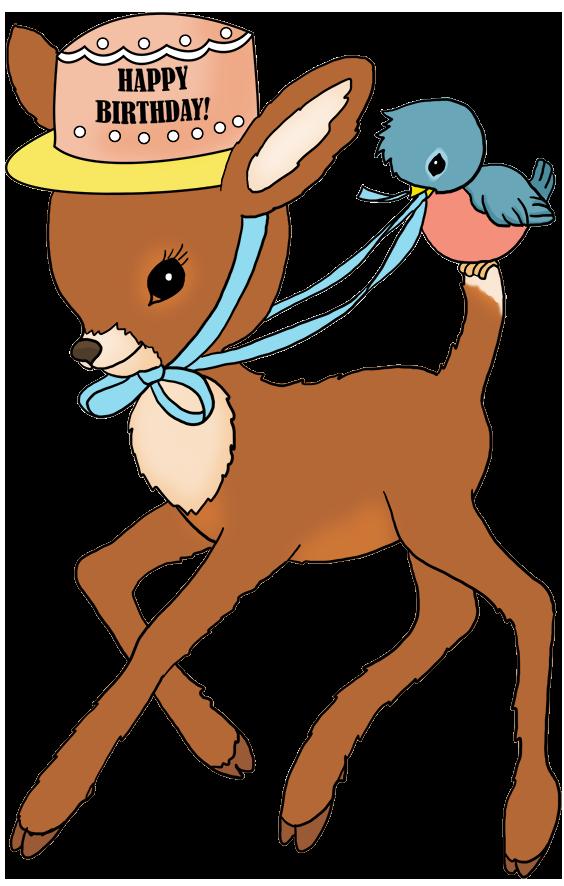 bambi birthday clipart