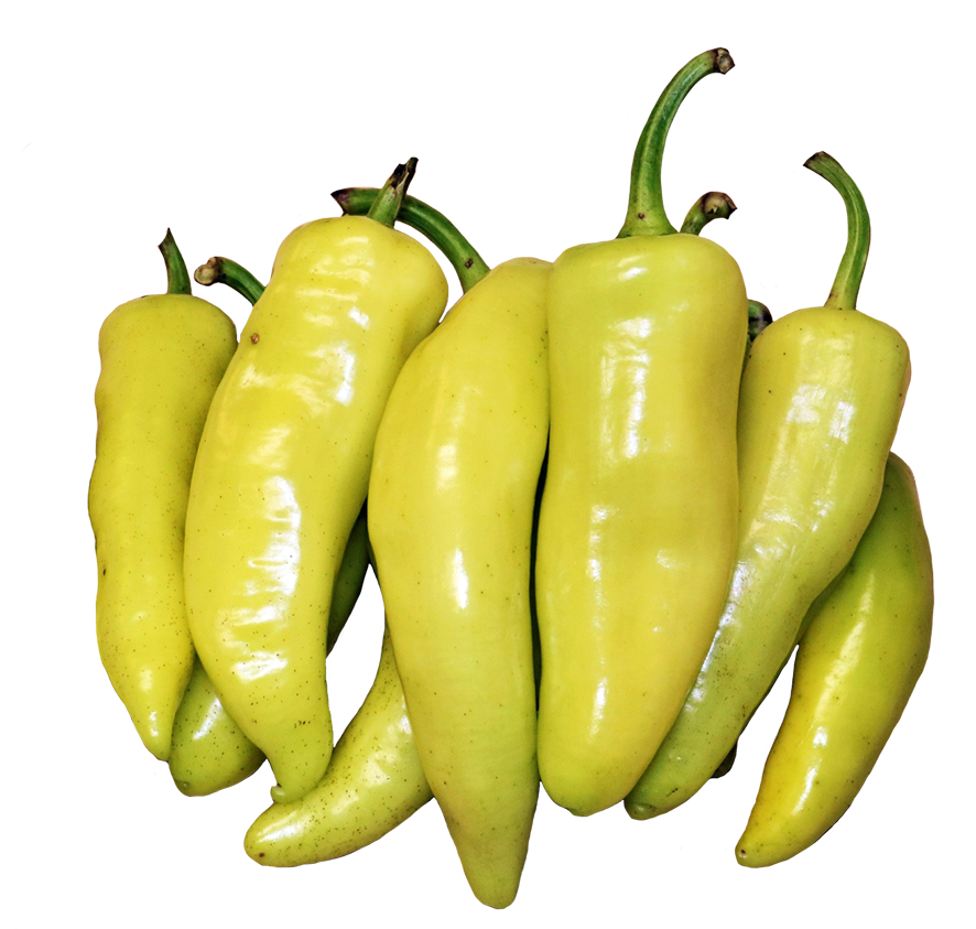 banana peppers clipart