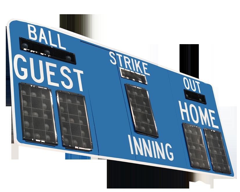 baseball scoreboard clipart