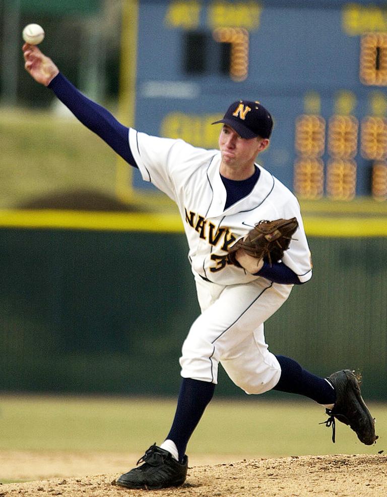 baseball pitch release