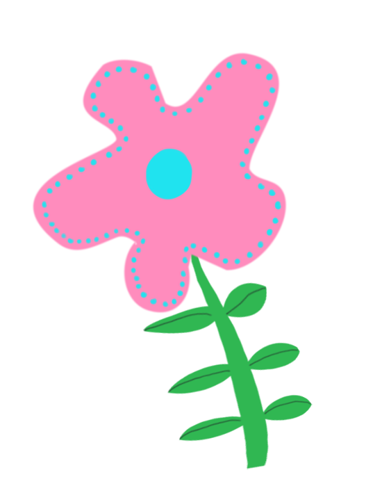 beautiful flower drawing for scrapbooking