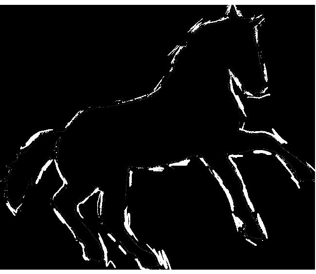 printable horse silhouette