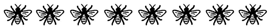 bee border side separator