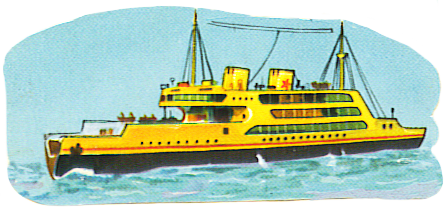 clip art of big ship