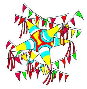 Birthday Cake Clip Art Pinata