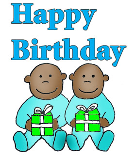 happy birthday twins boys