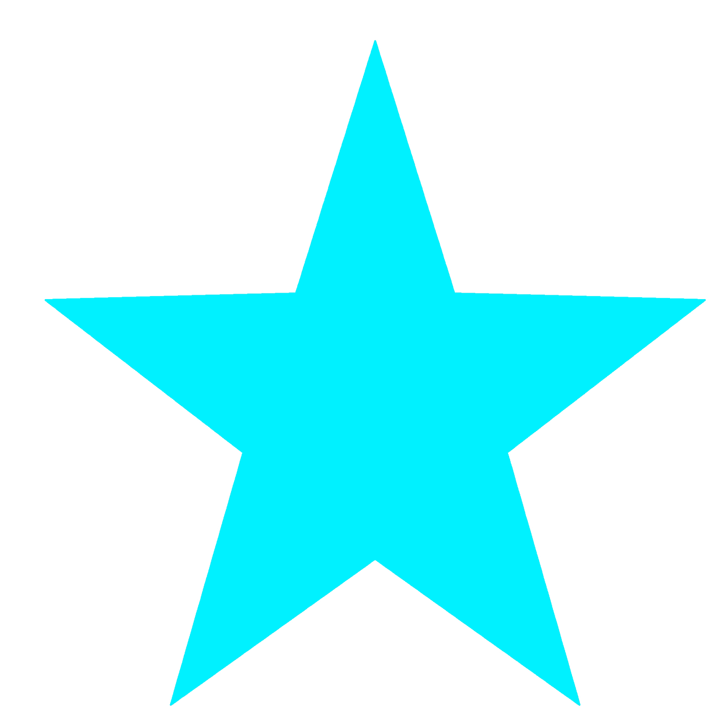 blue star template