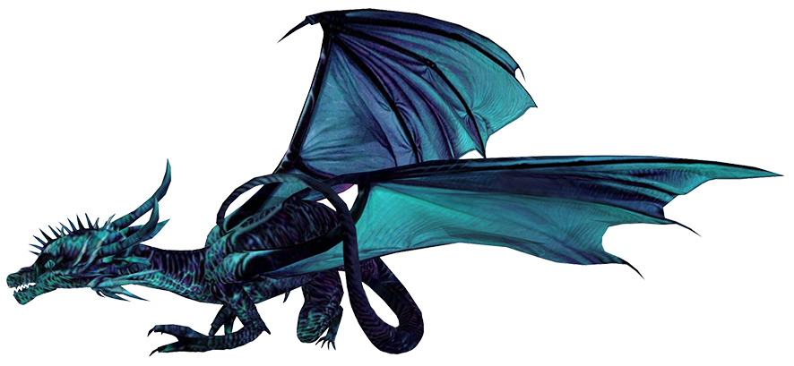 blue ice dragon pictures