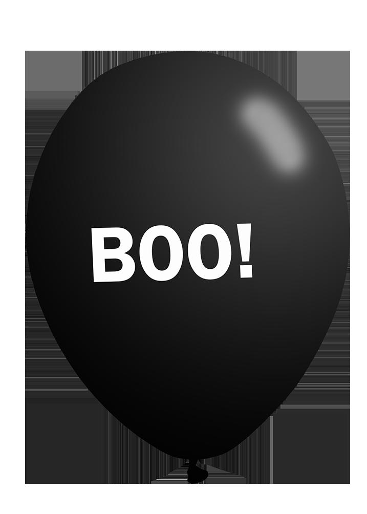 boo-Halloween balloon clipart