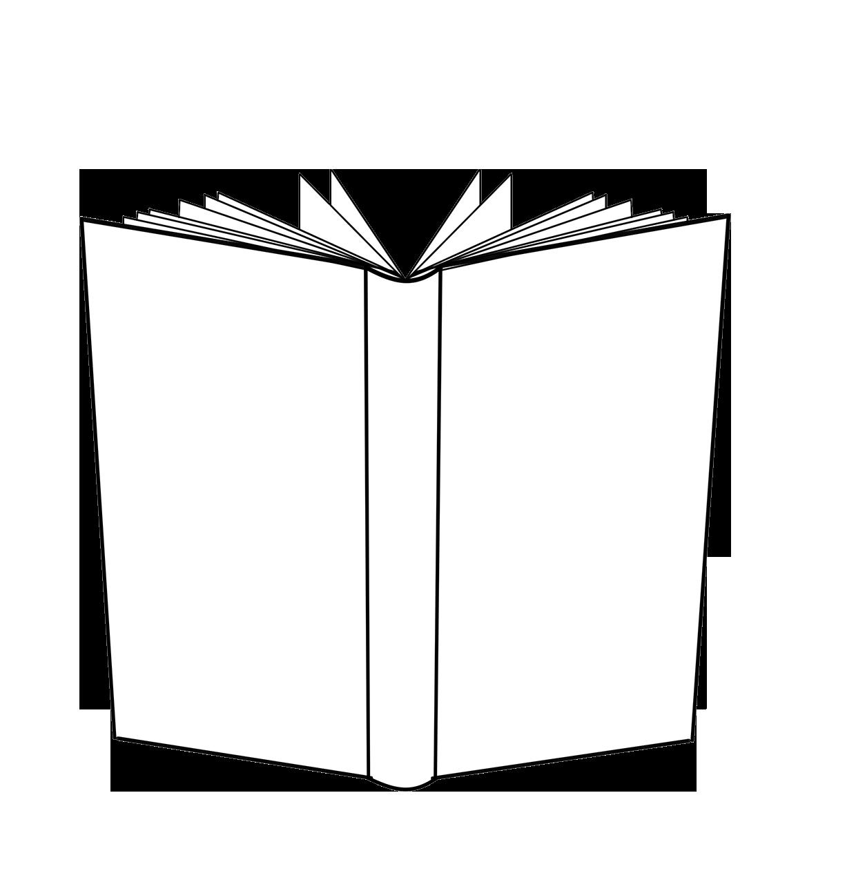 BOOK open backside