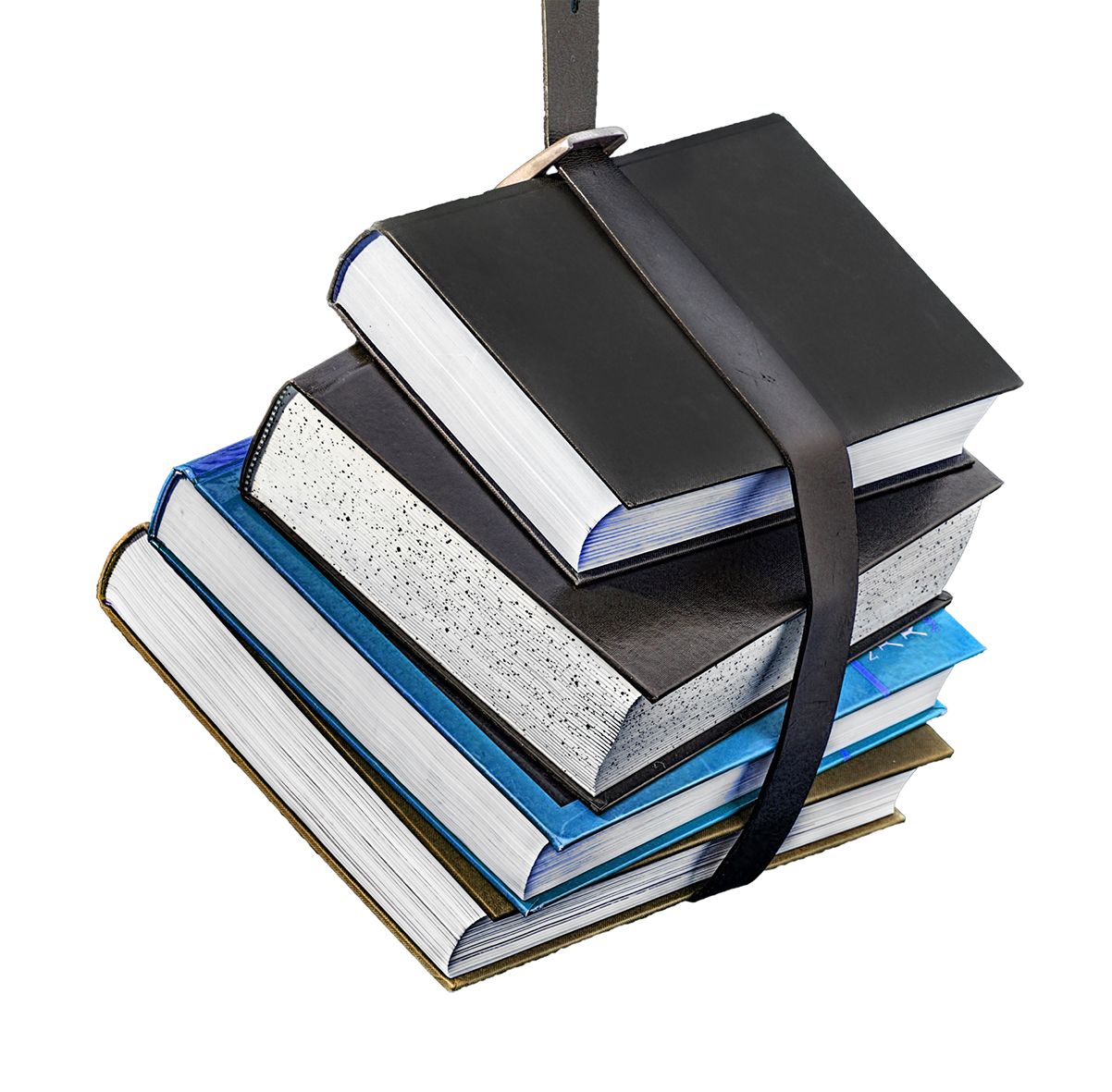 clipart books in a sling