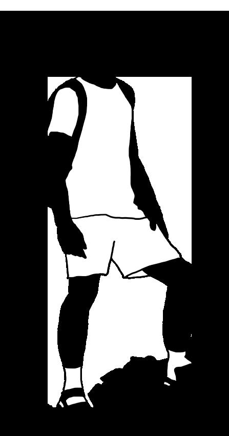 black white silhouette boy climbing mountain