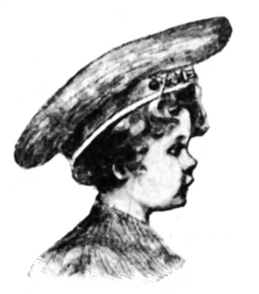 Victorian era boy's hat