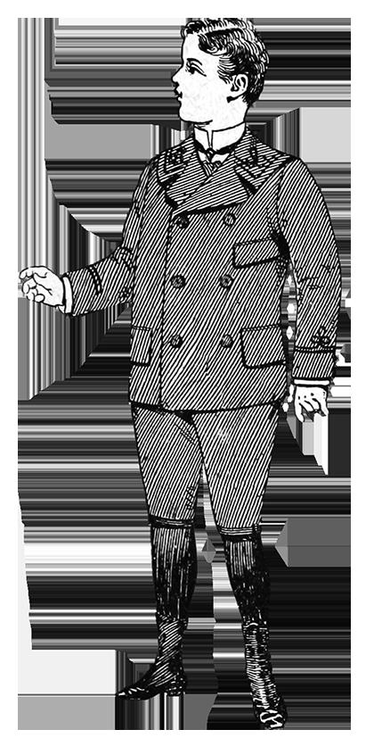 boy's clothing 19th century fashion