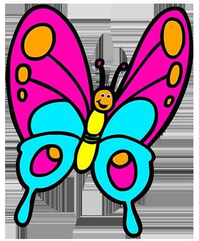 Clip Art Butterflies Clip Art butterfly cartoon clipart