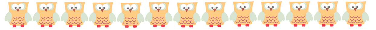 orange owl border