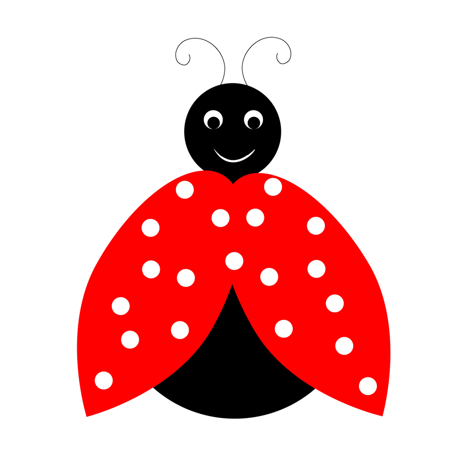 cartoon ladybird drawing