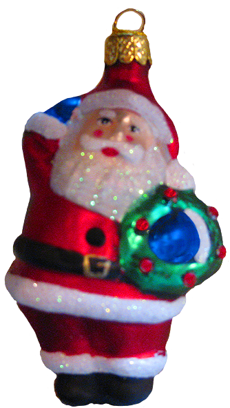 santa Claus ornament for the Christmas tree
