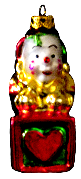 Christmas tree decoration clown