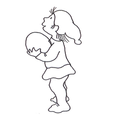 Sketch pixie girl
