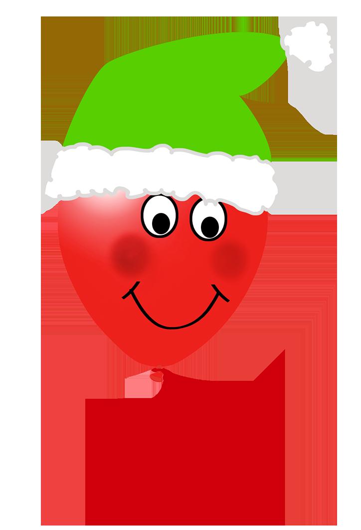 Christmas elf balloon