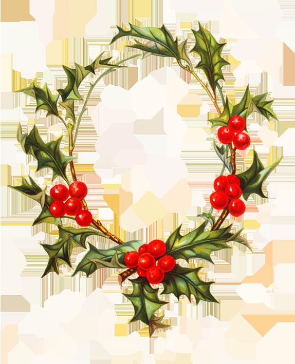 Christmas holy frame