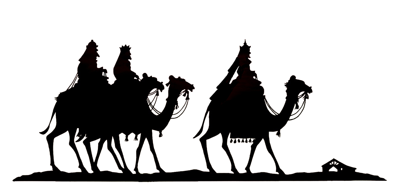 the three wise men silhouette