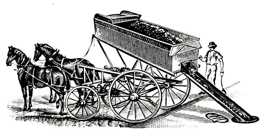 coal carriage unloading