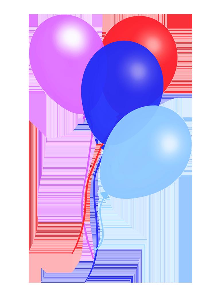 rainbow colorful balloons
