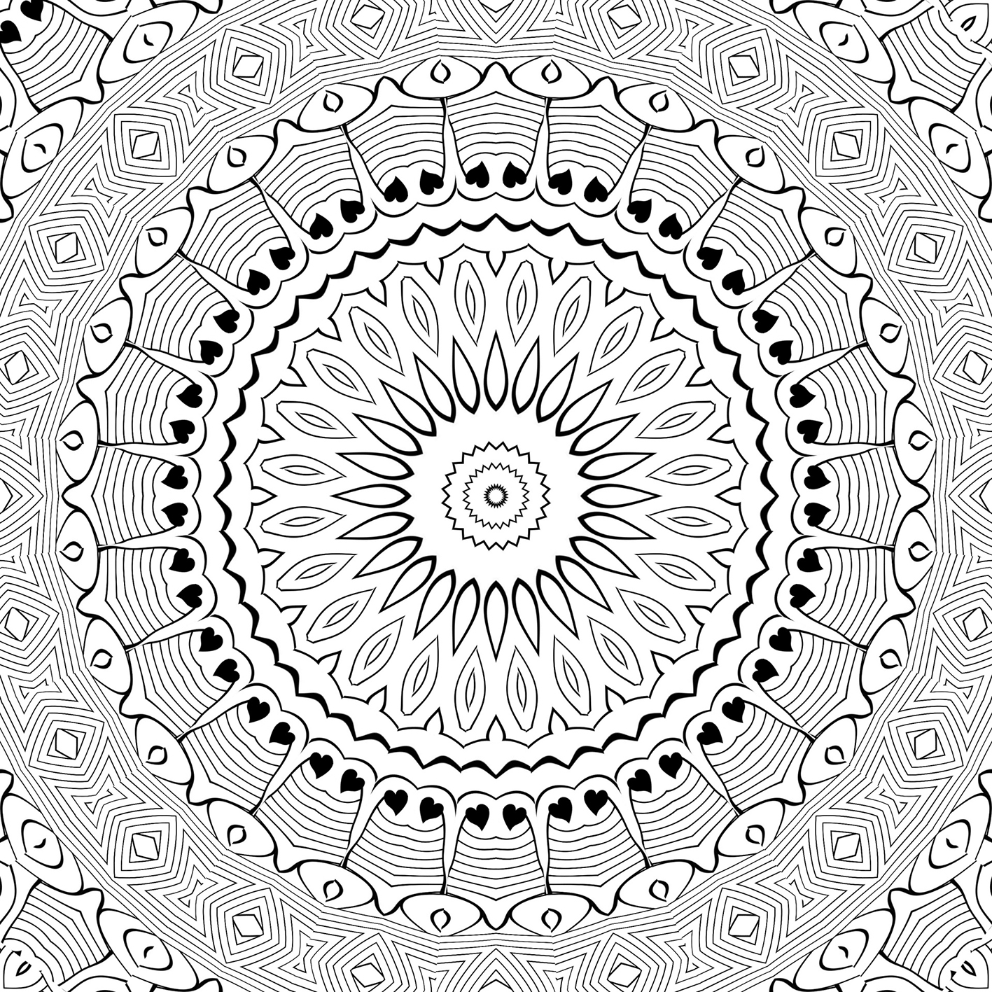 coloring page pattern
