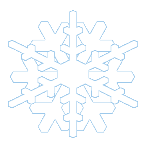 combined white snow clipart