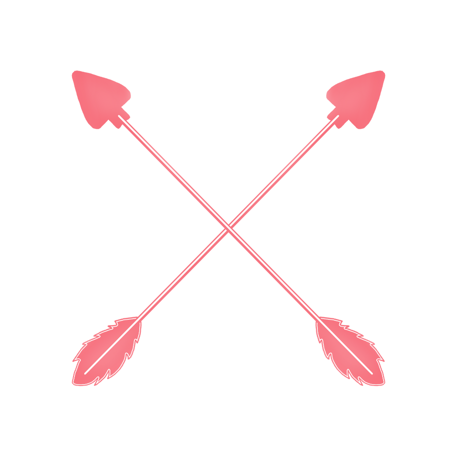 crossed arrows pink