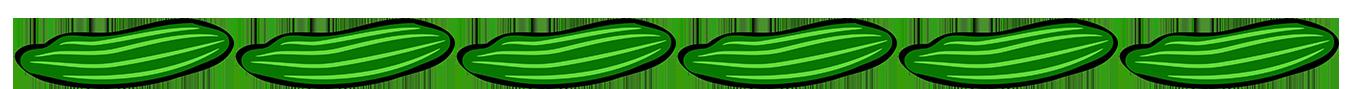 cucumber border