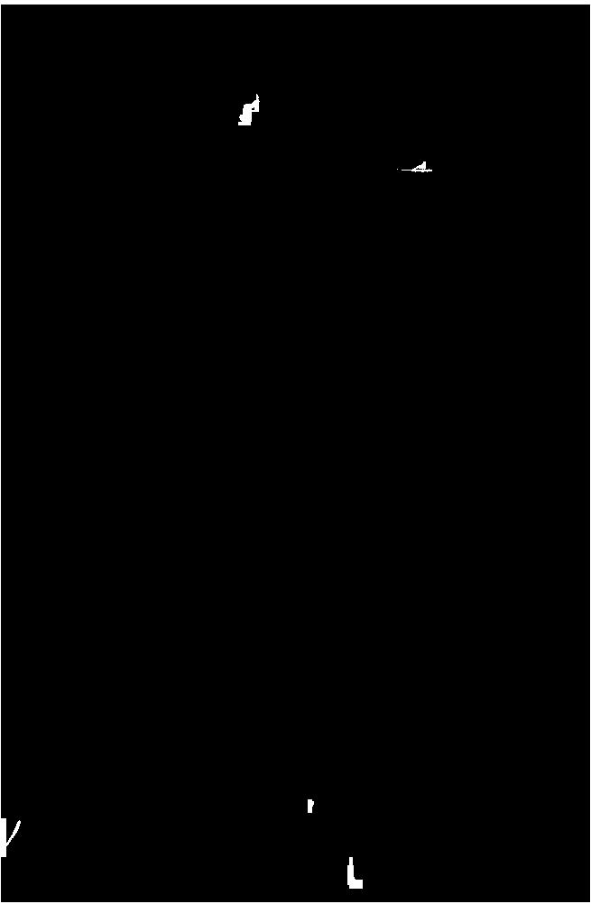 Black dancer silhouette