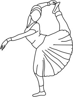 bharata natyam silhouette