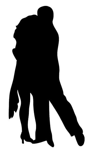 Rumba silhouette