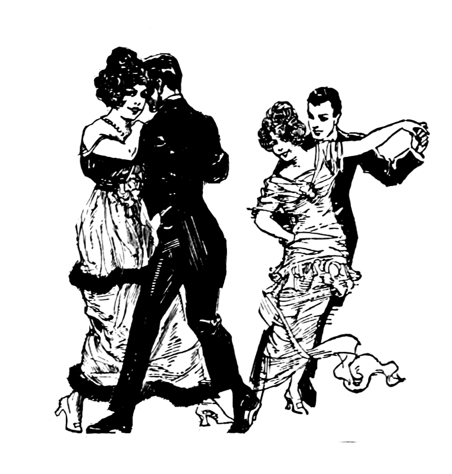 victorian dancing couples