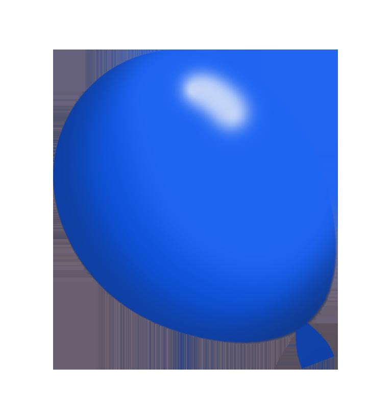 dark blue balloon