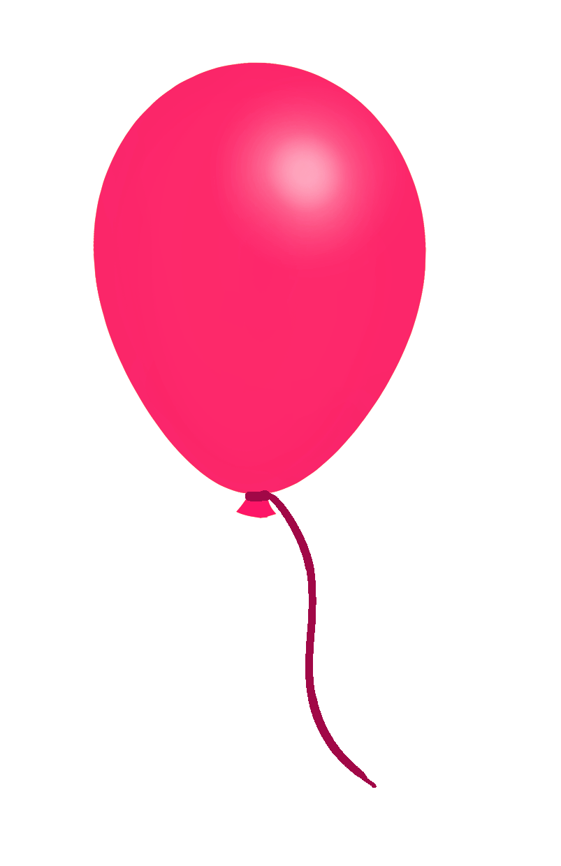 dark pink balloon clip art