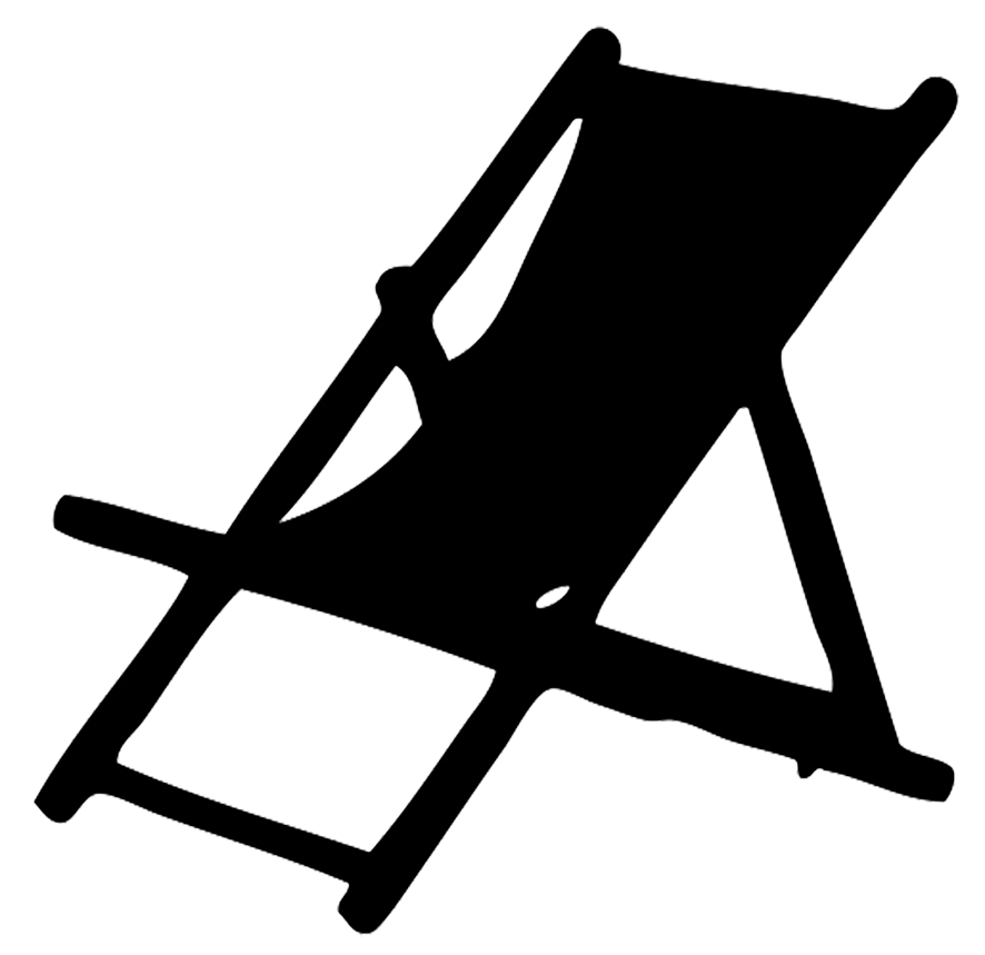 deck chair silhouette