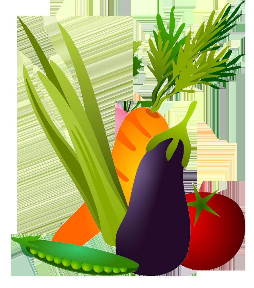 Vegetables clipart PNG