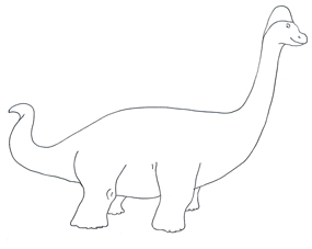 barchiosaurus sketch